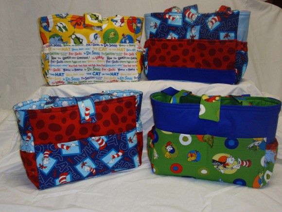 Dr. Seuss Diaper Bags
